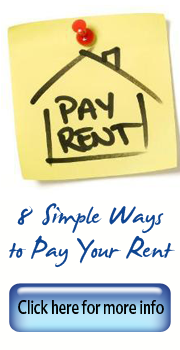 8 simple ways to pay your rent