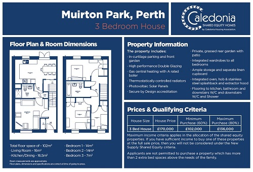 3 bed muirton shared equity layout info 2018