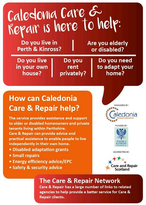 Caledonia Care & Repair here to help