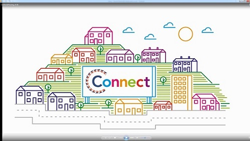 Connect animation
