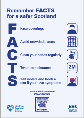 NHS FACTS poster