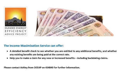 DEEAP Income maximization