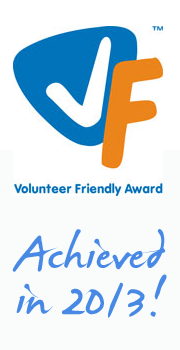 Volunteer Friendly Award since 2013