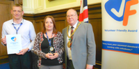 Caledonia have Award Winning Volunteering Service � it�s official!