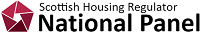 Scottish Housing Regulator National Panel Logo