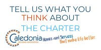 We'd like your thoughts on our Charter