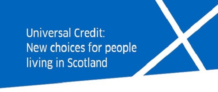 Universal Credit - new choices